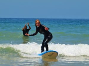 beginner surf lessons in Morocco