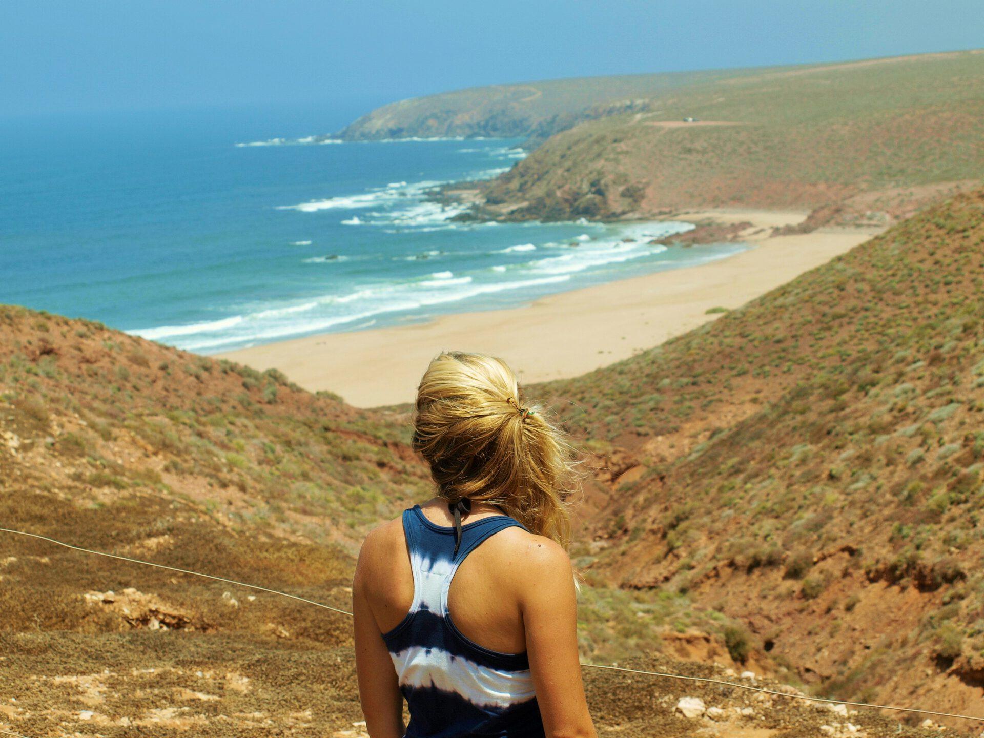 empty beaches Morocco