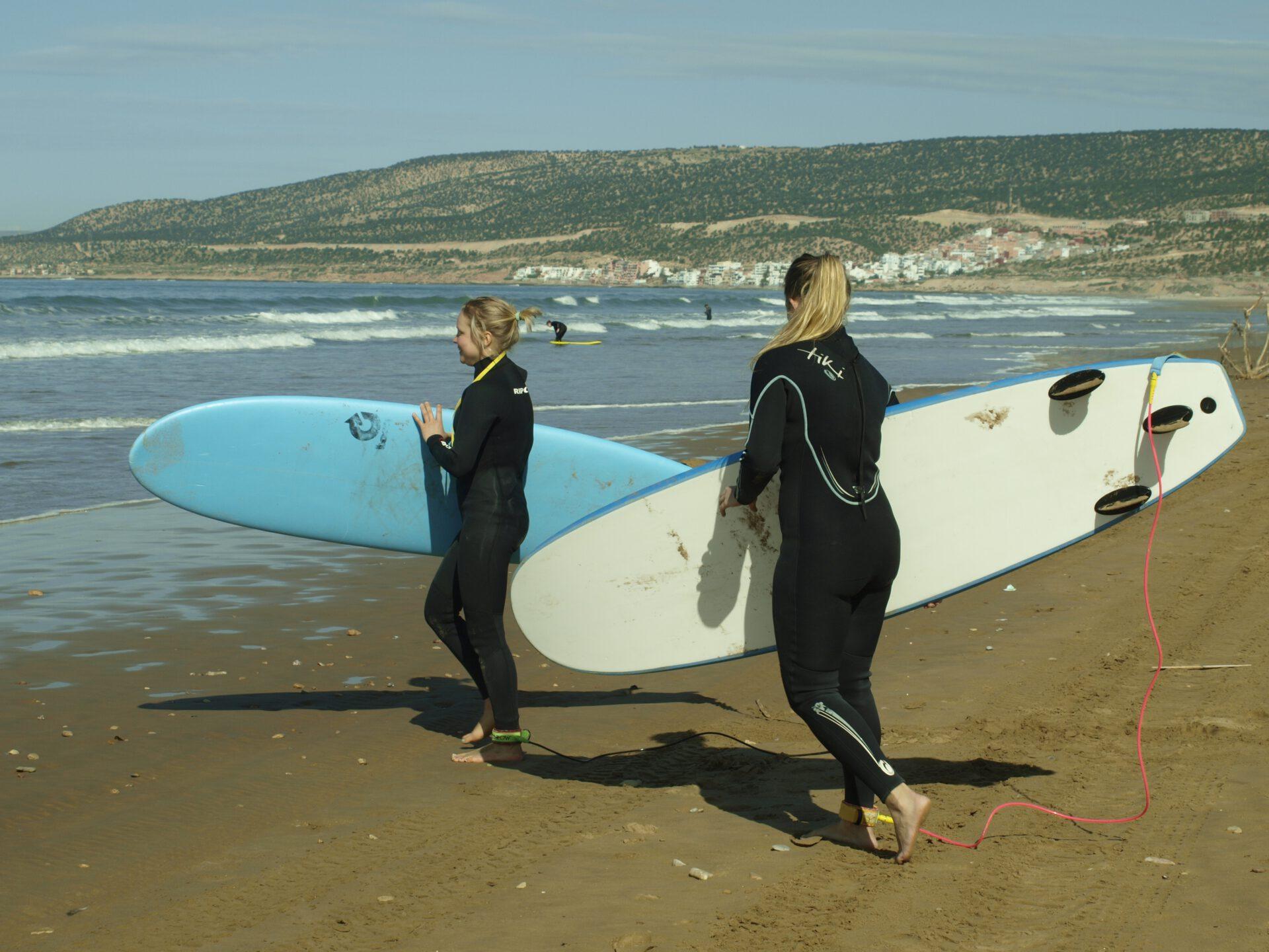 first surflesson