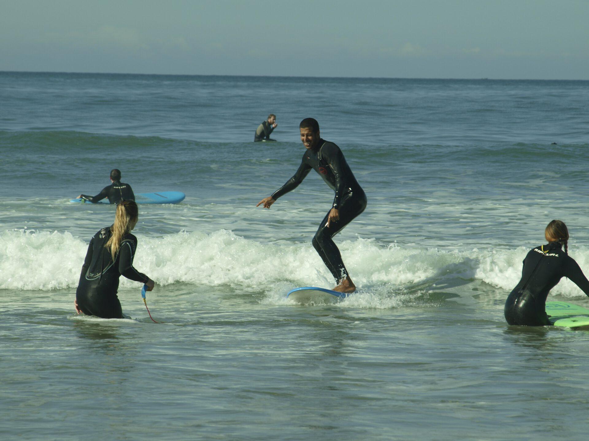 first surfday