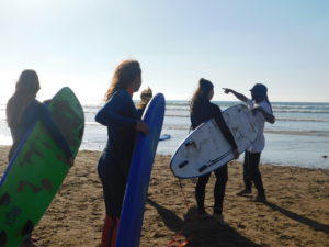 surfclasses in Morocco
