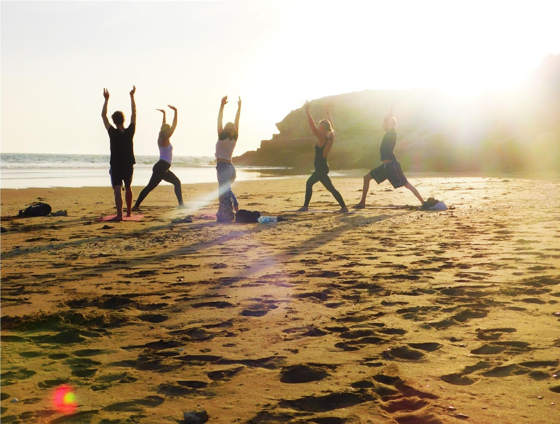 Yoga in Morocco