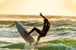 Surfing in Taghazout