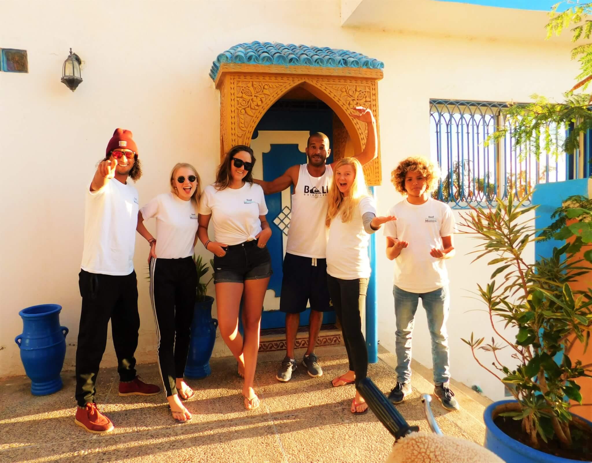 Surfcamp in Marokko Team