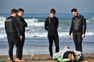 Beginner lessons surf