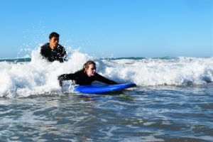 Beginner surflessons in Morocco