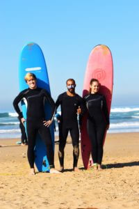 Surflessons for beginners in Morocco