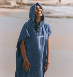 surf travel poncho