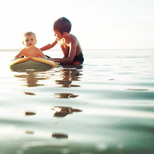 surfcamp with children