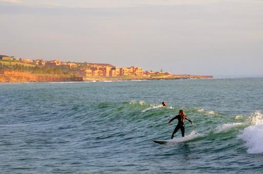 surfing in Tamraght